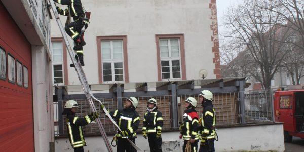 Übung Gebäudebrand Sonntag 04.03.2018