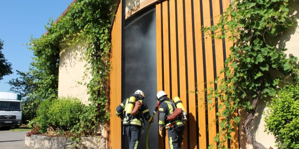 Übung Scheunenbrand Sonntag 03.06.2018